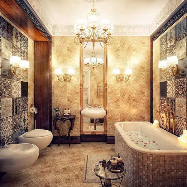 极度奢华的时尚潮流卫浴空间设