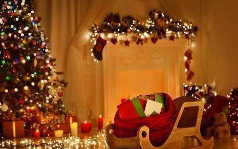 上海家居装饰西式浪漫,浓浓圣诞