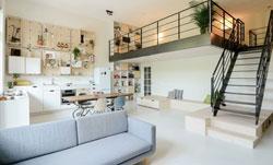 全开方式的别墅装修设计改造住
